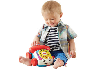 Fisher-Price Chatter Phone from The Bridge Direct