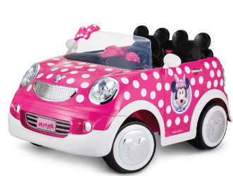 Minnie Battery-Powered Ride-On from KidTrax