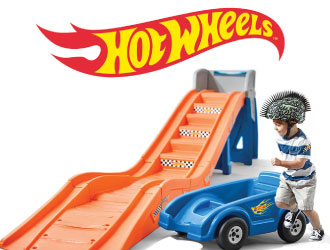 Hot Wheels Extreme Thrill Roller Coaster from Step2