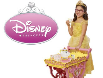 Disney Princess Belle Musical Tea Party Cart from Jakks Pacific
