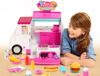 Barbie Food Truck from Just Play