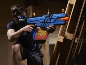 Nerf Rival Khaos MXVI-4000 Team Red and Team Blue from Hasbro