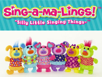 Sing-A-Ma-Lings from Funrise