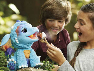FurReal Friends Torch, My Blazin' Dragon from Hasbro