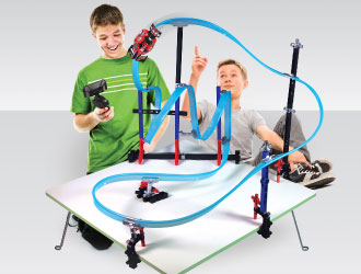 Mega Tracks Corkscrew Chaos from Lionel