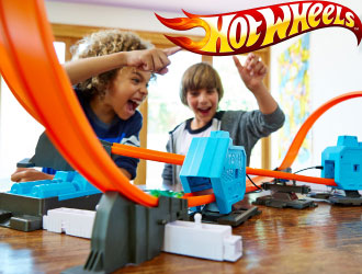 Hot Wheels Track Builder Power Booster Kit from Mattel