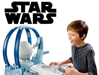 Star Wars Hot Wheels Death Star Revolution Race from Mattel