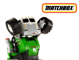 Stinky the Garbage Truck from Mattel