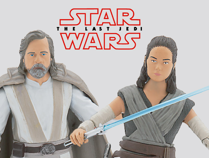 Star Wars Last Jedi Action Figures