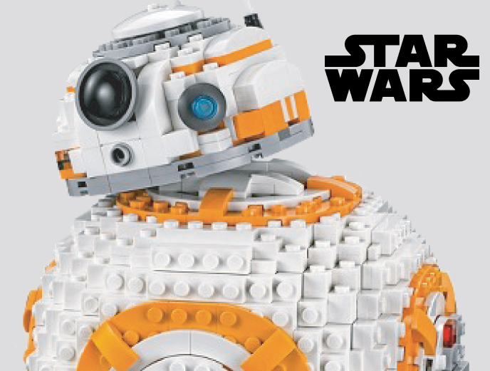 LEGO Star Wars: The Last Jedi Ultimate Collectors BB-8 from LEGO