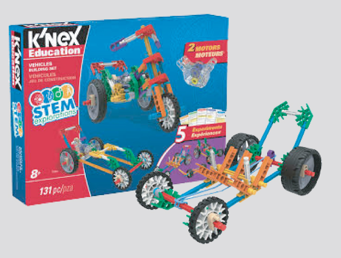 K'NEX Education STEM Exploration Vehicles