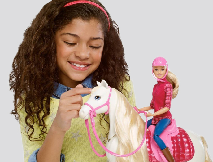 Barbie Dreamhorse & Doll from Mattel