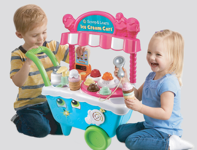 Scoop & Learn Ice Cream Cart from LeapFrog