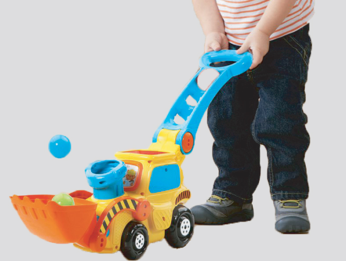 Pop A Balls Push & Pop Bulldozer from VTech
