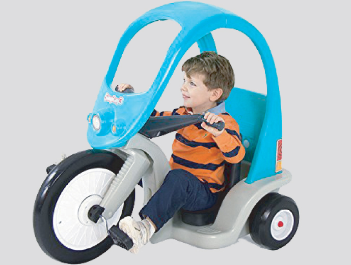 Super Coupe Pedal Trike from Simplay3