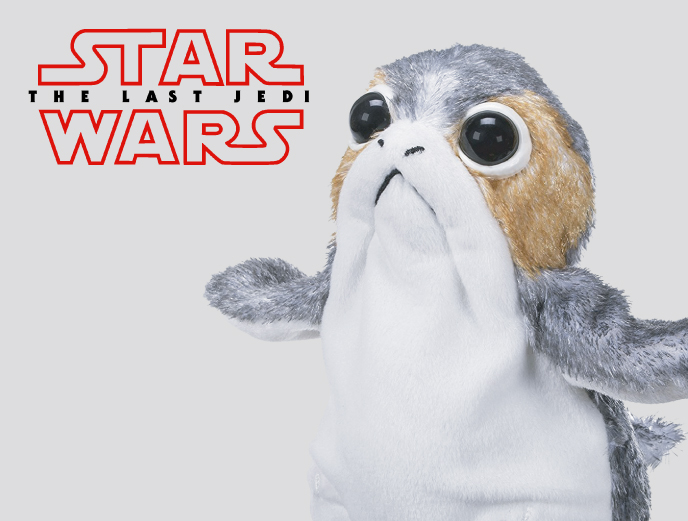 Star Wars: The Last Jedi Porg from Hasbro