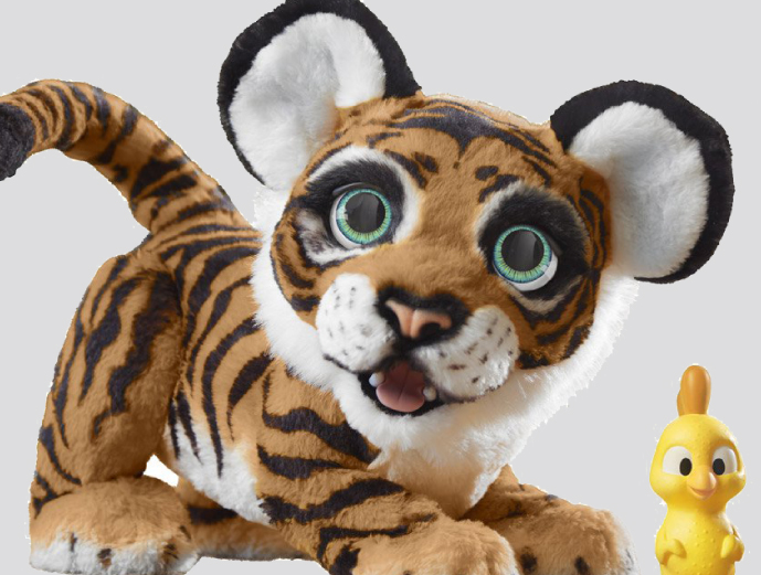 FurReal Tyler The Playful Tiger from Hasbro