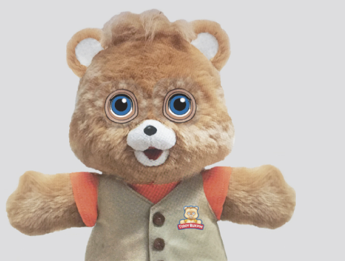 Teddy Ruxpin from Wicked Cool Toys