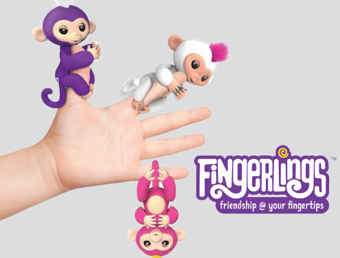 Fingerlings from WowWee