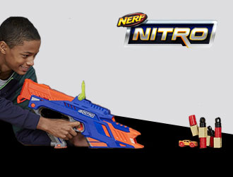 Nerf Nitro Motofury Rapid Rally from Hasbro