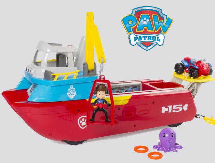PAW Patrol Sea Patroller from Spin Master