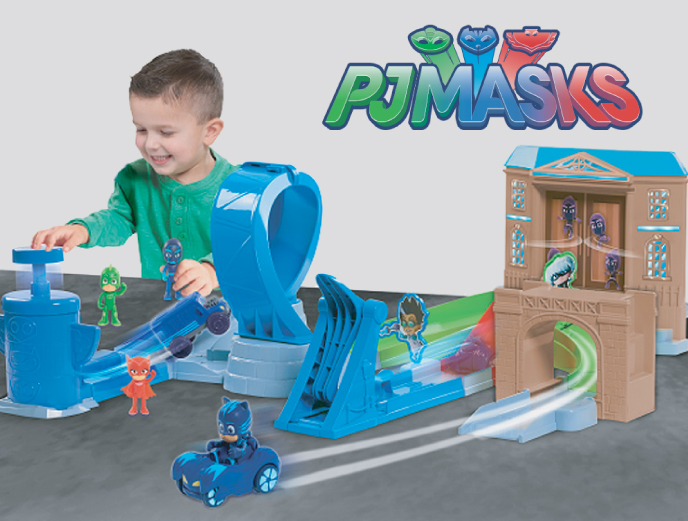 PJ Masks Rival Racers Track Playset from Just Play