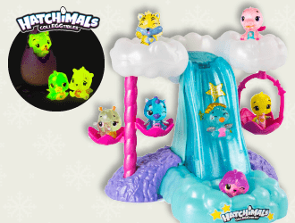 Hatchimals Colleggtibles Waterfall and Talent Show Playsets