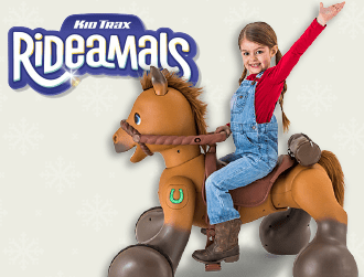 Rideamals Scout Play & Ride Pony