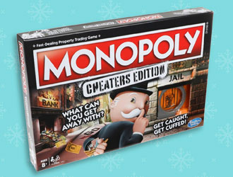 Monopoly Cheaters Edition from Hasbro