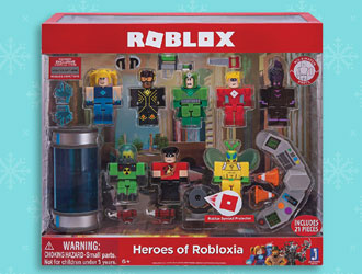 Roblox Heroes of Robloxia from Jazwares