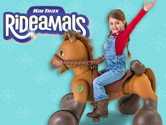 Rideamals Scout Play & Ride Pony from KidTrax