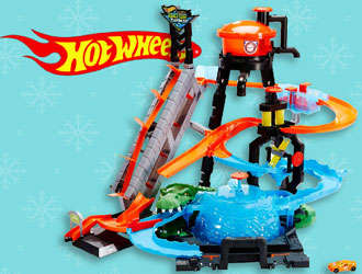 Hot Wheels City Ultimate Gator Car Wash from Mattel