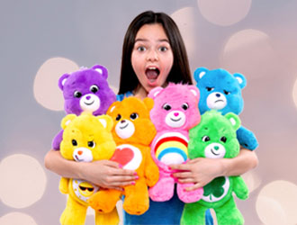 Care Bears Collectible Plush from Basic Fun!