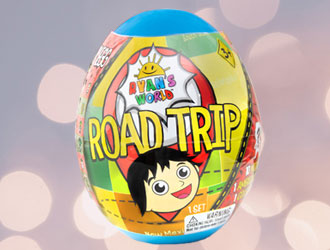 Ryan's World Road Trip Mega Micro Egg from Bonkers Toys