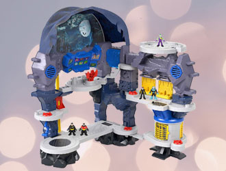 Imaginext DC Super Friends Super Surround Batcave from Fisher-Price