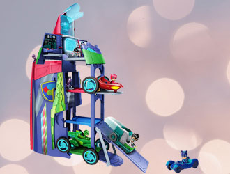 PJ Masks Transforming 2 in 1 Mobile HQ from Just Play