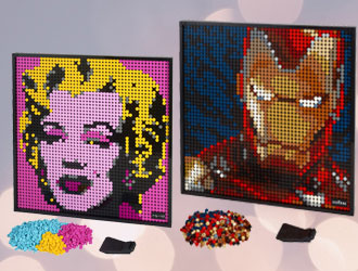 LEGO Art Sets from LEGO