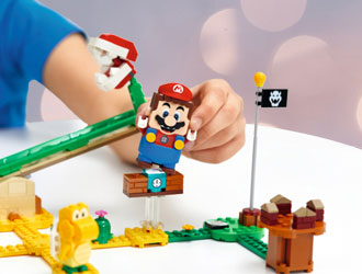 LEGO Super Mario Construction Sets from LEGO