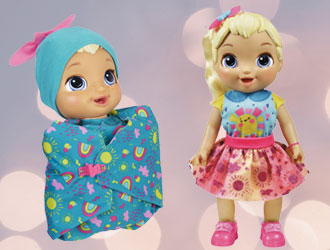 Baby Alive Baby Grows Up from Hasbro