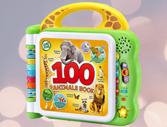 100 Animals Book from LeapFrog