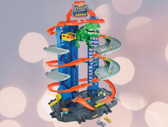 Hot Wheels City Ultimate Garage from Mattel