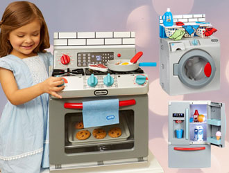 Little Tikes First Fridge, First Washer-Dryer, and First Oven from MGA Entertainment
