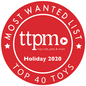 Most Wanted List Holiday 2020 Badge