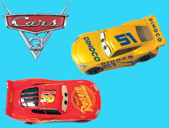 Cars 3 Die-Cast Cars