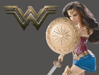 Wonder Woman Battle Ready Doll