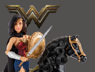 Wonder Woman and Horse