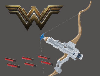 Wonder Woman Hero-Action Bow