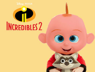 The Incredibles 2 Jack-Jack Attacks from Jakks Pacific