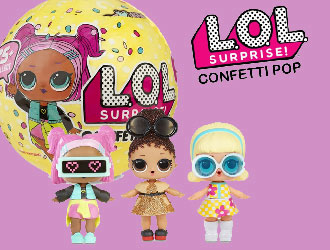 L.O.L. Surprise! Confetti Pop, Series 3 from MGA Entertainment