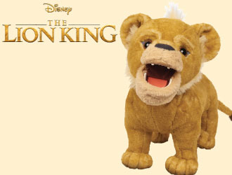 The Lion King Roaring Simba from Just Play